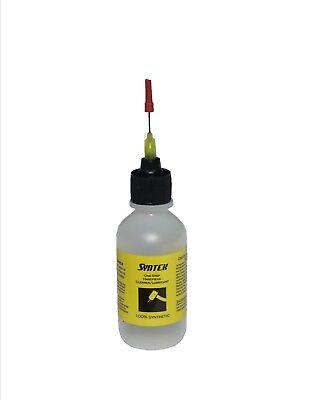 Syntek Synthetic Dental Handpiece Cleanerlubricant 1 Pack 2 Oz Dropper Bottle