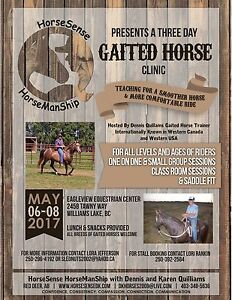 WILLIAMS LAKE  hosts GAITED HORSE CLINIC