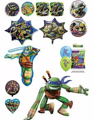 TMNT Teenage Mutant Ninja Turtles Balloons Party Ware Decoration Novelty Helium