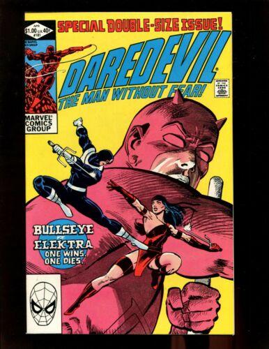 Daredevil #181 VF- Giant Frank Miller Death of Elektra Bullseye Punisher