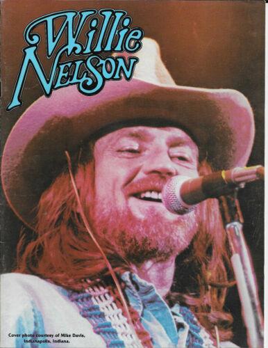 WILLIE NELSON 1978 STARDUST TOUR CONCERT PROGRAM BOOK BOOKLET / EX