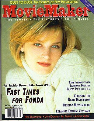 Bridget Fonda Movie Maker Magazine 1 98 Peter Bogdanovich Budd Boetticher Pc