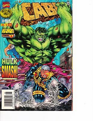 Cable Vs Deadpool (Cable #34 vs Incredible Hulk! Deadpool movie FREE SHIPPING @ $30)
