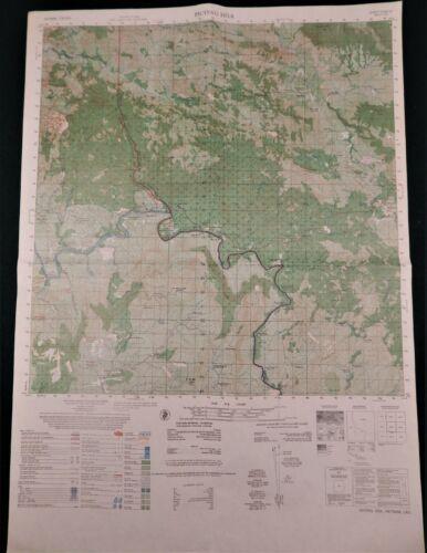 MAP – VIETNAM WAR – KHE SANH – HILL 881 South – LANG VEI – CO ROC - Original
