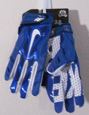 NEW Nike Vapor Jet 3.0 Mens Skill Football Gloves M Game Royal/White MSRP$50