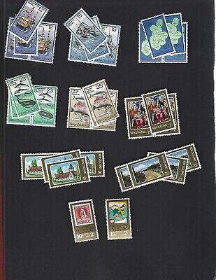 New Zealand sc#666-73 x4 #B101-2 (1978) Complete MNH