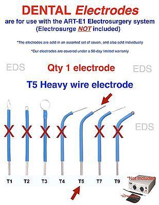 Bonart 1 T5  Dental Electrode - Use With The Art-e1 Electrosurgery System