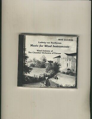 Beethoven:Music For Wind Instruments Chamber Orchestra of Europe, CD, Very Good