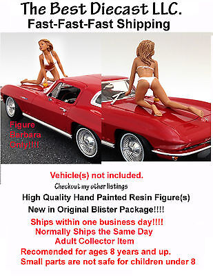 Barbara American Diorama 1:24 Figure For diecast Displays &  Dioramas