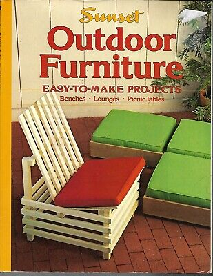 Sunset book of Outdoor Furniture  (372/J6)