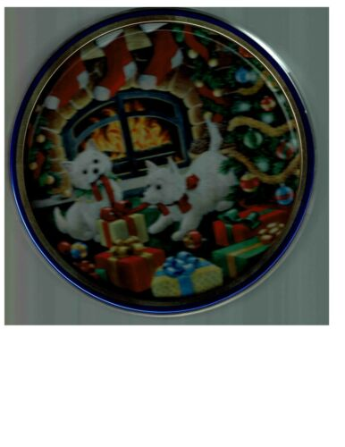 West Highland White Terrier Dog Puppy Collectible Tin