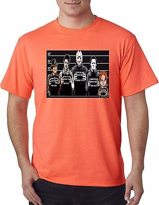 Classic Horror Movie Costumes (The Usual Horror Suspects Classic Halloween Movie Costume Mask T shirt MUST)