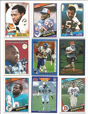 36 South Carolina State Alumni Football Cards; NM-Mint; 1981-2001
