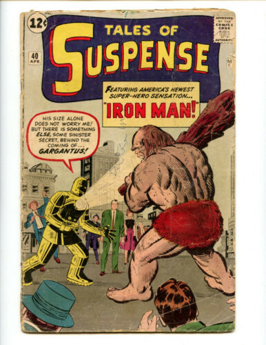 Tales of Suspense 40 2nd Iron Man! Affordable, Stan Lee