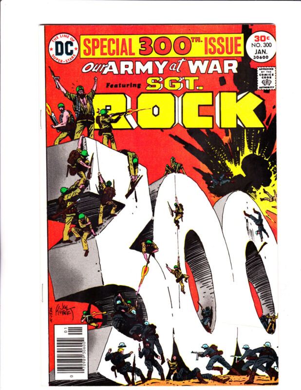 Our Army At War  No.300    : 1977 :    : Great Kubert Cover! :
