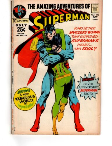 Superman #243 - The Starry-Eyed Siren of Space!