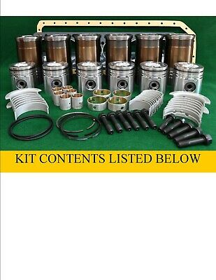 Rp176 John Deere 329dn03 329dh02 Engine Late Inframe Overhaul Kit 3130 2840 4400