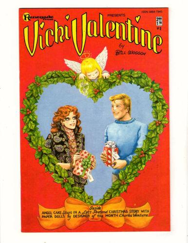 Vicki Valentine #2 (1985, Renegade Press) VF/NM Bill Woggon Paper Dolls Romance