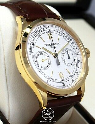 Patek Philippe Complications Chronograph 5170J 18K Yellow Gold New Box Papers