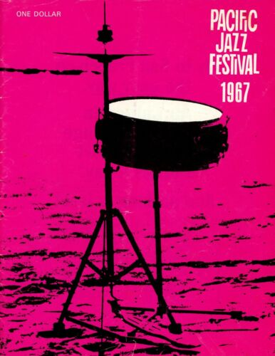 PACIFIC JAZZ FESITVAL 1967 Program (Very good condition)