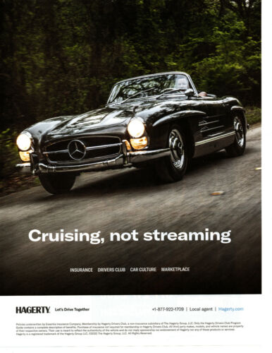 1958 MERCEDES-BENZ 300SL ROADSTER ~ NICE AUCTION AD