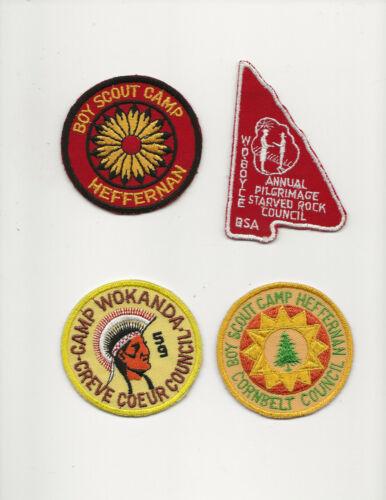CAMP WOKANDA / HEFFERNAN / STARVED ROCK / W D BOYCE - Boy Scout BSA A132/7-4