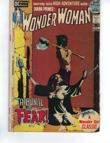 Wonder Woman #199 - Tribunal of Fear! - 48-page giant!