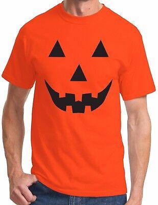 Funny Halloween T Shirt Pumpkin Face Easy Costume Jack O Lantern Spooky Fun Tee - Fun Halloween Costumes Easy