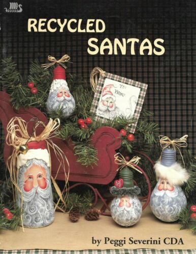 RECYCLED SANTA  Decorative Tole Painting Book