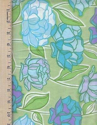 URBAN GARDEN  FREE SPIRIT   100% Cotton Fabric priced by 1/2 yd  Free Spirit Urban Garden