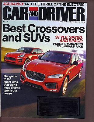Car   Driver Magazine November 2016 Best Crossovers   Suvs