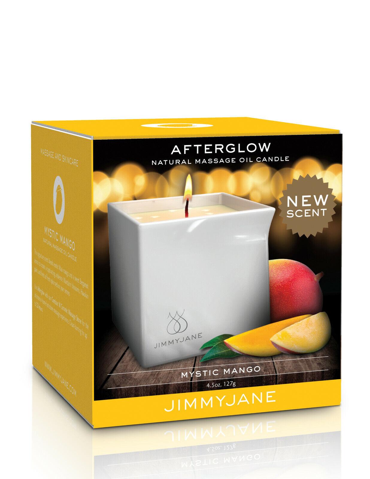 JimmyJane Afterglow Massage Candle - Mystic Mango