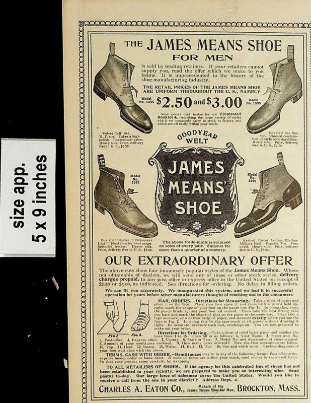 1904 James Means