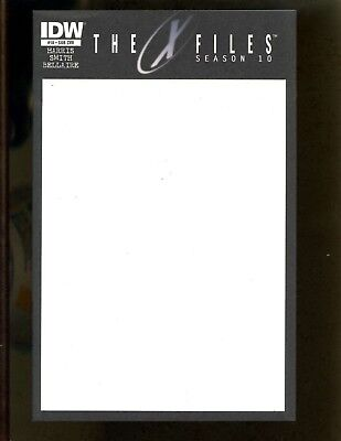 X-Files Season 10 #18 VFNM Smith, Blank Variant Cover for sale  Shipping to Canada