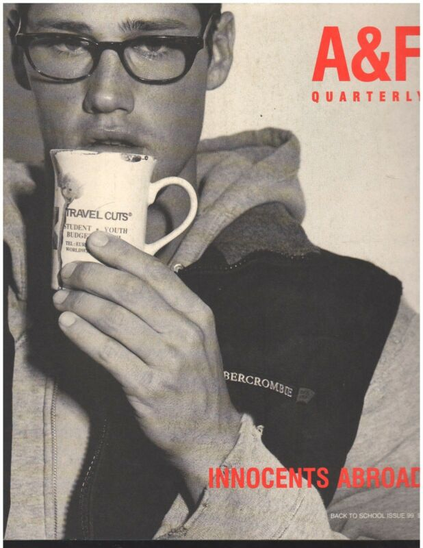 Abercrombie & Fitch 1999 Back to School Fall Catalog  A&F Quarterly Bruce Weber