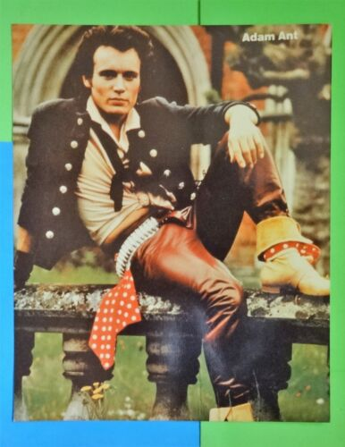 """ADAM ANT"" the English Singer & Musician & Lead Singer of New Wave - photo still"