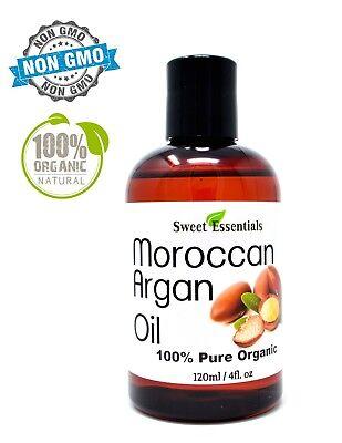 Organic Premium Moroccan Argan Oil   4oz   Imported From Morocco   100% Pure