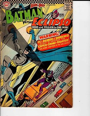 DC Comics The Brave and the Bold Batman versus Eclipso #64 March VG