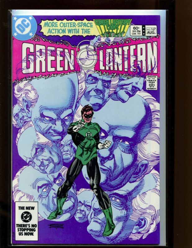 Green Lantern #167 NM Kane