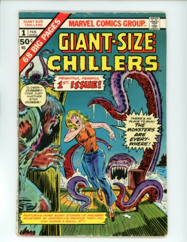 Giant Size Chillers #1 | VG-(3.5) | Marvel Comics