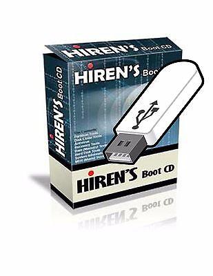 Hirens Boot Usb Computer Repair Tech   Password Recovery Win7 8 Vista   Xp 10