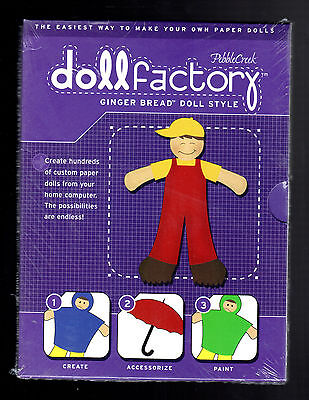 Paper 'DOLL FACTORY - Ginger Bread Style by Pebble Creek - (2001 CD) New