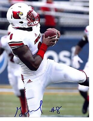 Gerod Holliman Louisville Cardinals signed autographed football photo 2015Draft!