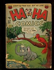 """2.0 /"""" IZZY AND DIZZY /"""" ~ GOLDEN AGE 1946 Details about  /HA HA COMICS #33"""