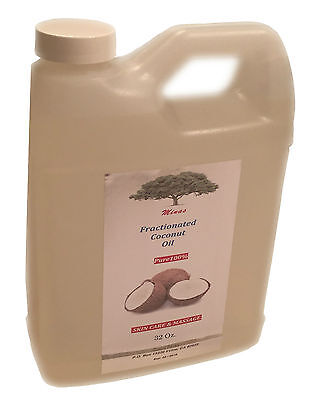 FRACTIONATED COCONUT OIL 100% PURE NATURAL FOR SKIN MASSAGE