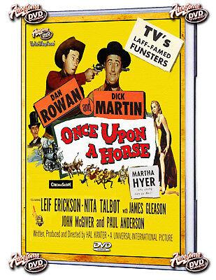 Once Upon a Horse (1958) DVD Dan Rowan Dick Martin Martha Hyer
