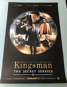 The Kingsman Movie Theatre Posters