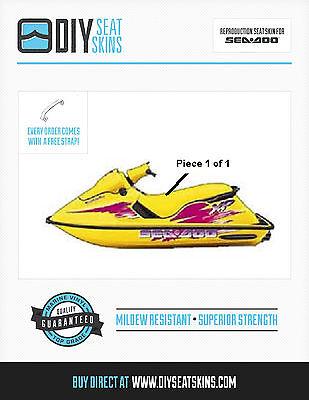 93-99 SeaDoo sea doo Seat Cover Skin XP SP SPX SPi ANY COLOR!! 100% USA MADE