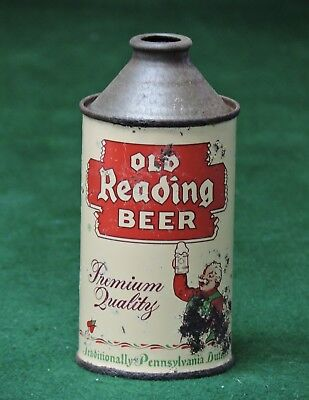 OLD READING BREWING CO. READING , PA. PREMIUM QUALITY CONE TOP BEER CAN # 176-32