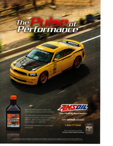 2016 DODGE CHARGER SUPER BEE ~ ORIGINAL AMSOIL AD